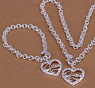 Fahion Ilver покрытием (включают браслет & ожерелье) ювелирные изделия и др