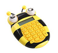 Lovely Cartoon Bee Mini Calculator (Yellow)