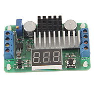 "0.36"" LED 3-Digital DC to DC 100W High Power Boost Supply Power Module Voltmeter - Green (3.5~30V)"