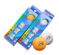 Double Fish - 3 Stars Table Tennis Racket Ball(3 Pcs)