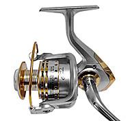 Carrete de la pesca Carretes para pesca spinning 4.7:1 12 Rodamientos de bolas Intercambiable Zurdo -ManosPesca de Mar Pesca de