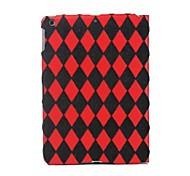 Quilting Pattern Flocking Material Full Body Case for iPad Air