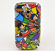 For Samsung Galaxy Case Pattern Case Back Cover Case Cartoon PC Samsung S3 Mini