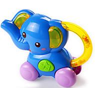Mini Musical Optical Blue Elephant-shaped Trumpet Toy
