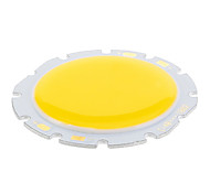 10W COB 1000LM 3000K Warm White Light LED Chip (32-36V)