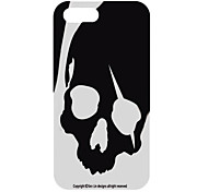 Stylish Skull Pattern Back Case for iPhone 5