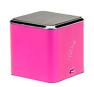 Cube Style Speaker with SD,TF,FM Supported(Pink, Blue)