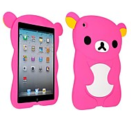 Cute Bear Silicon Soft Case for iPad mini 3, iPad mini 2, iPad mini