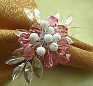 Pink Acrylic Napkin Ring
