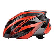 MOON Cycling Black+Orange PC/EPS 21 Vents Protective Ride Helmet