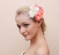 Flower Girl's Fabric Headpiece-Casual Flowers