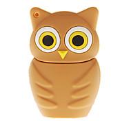 16G Night Owl Shaped USB Flash Drive