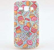 Cupcakes Rose Hips Mild Salt  TPU Back Cover Case for Samsung Galaxy Ace 3 S7272
