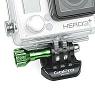 Vert aluminium mini tournevis pour GoPro 3 Plus / 3 +