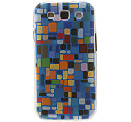Colorful Lump Pattern Plastic Protective Hard Back Case Cover for Samsung Galaxy S3 I9300
