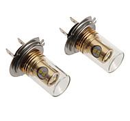 H7 12W 880LM 5500-6500K refrescan la lámpara LED de luz blanca para el coche (12-24V)