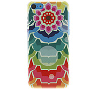 The Sun-flowers Pattern Hard Case for iPhone 5C