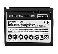 1500mAh bateria do telefone celular para Samsung Google Nexus S i9020