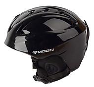 MOON® Casque Femme Homme Snow Sport Helmet Montagne Demi-coquille Casque Sport  Noir Casque Sport d'Hiver ABSCyclisme Cyclisme sur Route