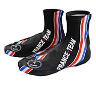 KOOPLUS - Francés Selección Polyester + Lycra Negro + Azul Zapatillas Cubierta