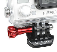 Red Aluminum Mini Parafuso para GoPro 3 Plus / 3 +