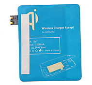 Blue Qi Standard Wireless Charging Receiver Pad For Samsung Galaxy S3 i9300