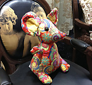Small-sized Polychrome Chinese Zodic Plush Mouse Puppet Gift