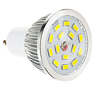 Faretti LED 15 SMD 5730 GU10 5W Intensità regolabile 100-550 LM Bianco caldo AC 220-240 V
