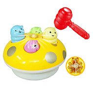Large-sized Interesting Musical Optical Electronic Yellow Whac-A-Mole Toy