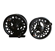 Black Metal Professional Fly Reel With A Spare Reel