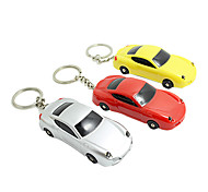 1PCS Car Shaped Keychain with LED Light& Voice(Random Color)