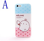 Cartoon Lovely Potato Rabbit Design TPU Soft GEL Back Case Cover for iphone 5/5S