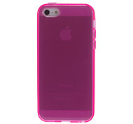 Quality Smooth Transparent Soft Case for iPhone 5C (Assorted Colors)
