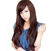 Side Bang Synthetic Long Wavy Wigs 3 Colors Available