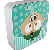 OUNUO Universal 8000mAh Naughty Cartoon Coconu Pattern Portable Power Bank External Battery (5V 2A Max,20cm)