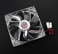 12cm 12005+CP LED Fan LYF LY-1225M12S DC 12V 0.36A