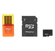 8gb cartão microSDHC tf com adaptador SD e SDHC e leitor de cartão usb
