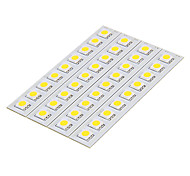 DIY 1.5W 9x5050SMD 30-60LM 3000-3500K Cool White Light LED PCB Board (12V)
