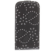Special Design Black Background Diamond Look Full Body Case for Samsung I9500
