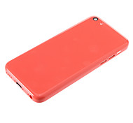 Back Cover Housing with For iPhone 5C Red