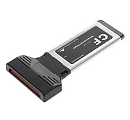 54/34mm Express Card ExpressCard CF Reader ExpressUSB Card Adapter for Laptop