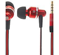 Universal HS330 3,5 milímetros Música de Metal Headset para Samsung e Apple Celulares