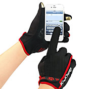 CoolChange Cycling Iphone Screen Touch Red Full Finger Gloves