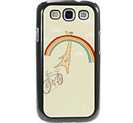 Rainbow e Giraffe modello in alluminio e plastica Custodia Cover posteriore dura per Samsung Galaxy S3 I9300