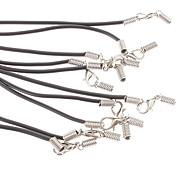 Shape Linea di Moda catena silicone nero (10 pz)