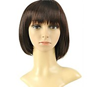 Women Short Synthetic Full Bang Wigs 3 Colors Available