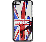 Starker Mann in der Union Jack-Muster Tonerde Hard Case für iPhone 5C