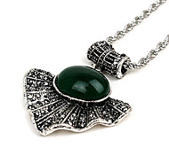 Retro Fashion Pendant Necklace(Random Color)