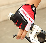 Glove Cycling / Bike All / Men's Fingerless Gloves Protective / Anti-skidding / Wearable / Breathable / Wearproof Summer YellowM / L / XL