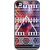 Colorful Outer Space Pattern Aluminous Hard Case for iPhone 4/22S